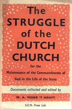 The struggle of the Dutch church for the…
