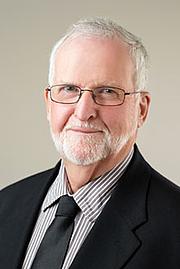 Author photo. William J. Byrne [credit: Athabasca University]