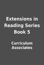 Extensions in Reading Series Book 5 by…