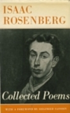 The Collected Poems of Isaac Rosenberg by…