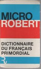 Micro Robert Dictionnaire De Francais…