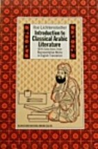 Introduction to classical Arabic literature:…