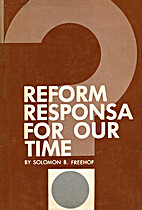Reform Responsa for Our Time by Solomon B.…
