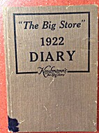 Kaufmann's: The Big Store 1922 Diary by…