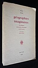 Géographies imaginaires de quelques…
