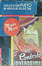 Un contrato inverosímil by María Martí