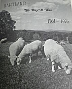 Hartland - The Way It Was 1761 - 1976 by…