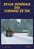 Revue Générale des Chemins de Fer, n° 1 -…