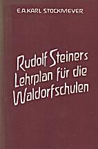 Rudolf Steiner's Curriculum for Waldorf…