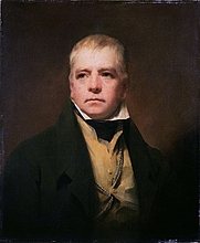 Author photo. Painting by Sir Henry Raeburn - Portrait of Sir Walter Scott (Wikipedia)