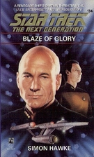 Blaze of Glory by Simon Hawke