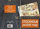 Stockholm Pocket Map by Edited