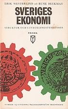 Sveriges ekonomi : struktur och…