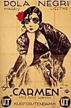 Carmen [1918 film] by Ernst Lubitsch
