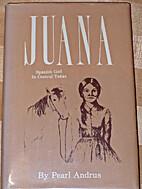 JUANA, SPANISH GIRL IN CENTRAL TEXAS. by…