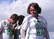 Author photo. Make Poverty History rally, Stop the War stage, July 2, 2005 (photo credit: JK the Unwise, Wikipedia user)