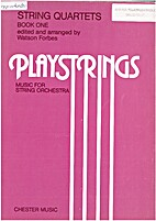 Playstrings - String Quartets Book One by…