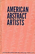 American abstract artists by Gallatin…