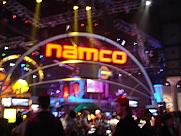 Author photo. Namco booth @ E3 2005, photo by Lampbane