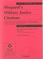 Shepard's Military Justice Citations