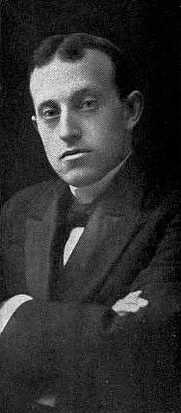 Author photo. Image from <b><i>Peace poems and sausages</i></b> (1916) by David Van Bush