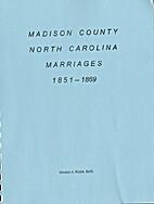 Madison County North Carolina Marriages…