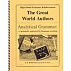 The Great World Authors: Analytical Grammar…