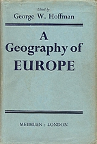 A geography of Europe by George Walter…