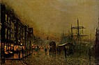 John Atkinson Grimshaw : 1836 - Leeds - 1893…