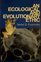 An Ecological and Evolutionary Ethic by…