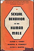 Sexual Behavior in The Human Male by Wardell…