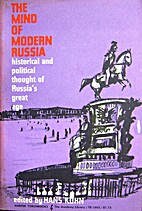 The Mind of Modern Russia by Hans Kohn