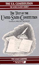 The U.S. Constitution. The Constitutional…
