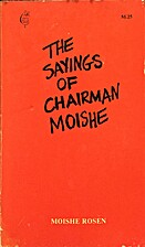The sayings of Chairman Moishe (New leaf…