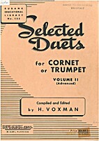 Selected Duets Volume II by H. Voxman