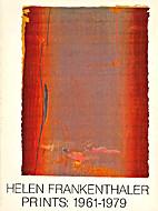 Helen Frankenthaler Prints 1961-1979 by…