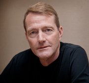Author photo. Lee Child. Photo by Mark Coggins.