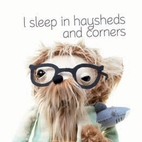 I sleep in haysheds and corners by Ben…