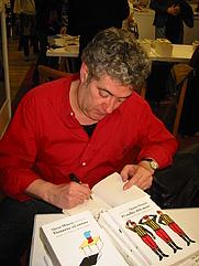 Author photo. Quim Monzó a la Setmana del Llibre en català 2003
