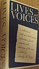 Lives and voices; a collection of American…