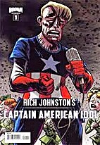 Rich Johnstons Captain American Idol #1 by…