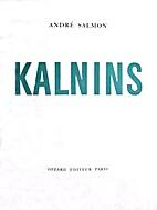 Kalnins by André Salmon
