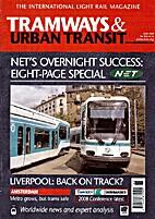 Tramways & Urban Transit, vol. 71, n°846 by…