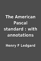 The American Pascal standard : with…