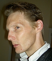 Author photo. Author Steve Morris