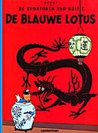 The Blue Lotus by Hergé