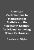 American Contributions to Mathematical…