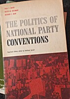 The politics of national party conventions…
