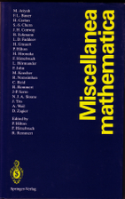 Miscellanea mathematica by Peter John Hilton