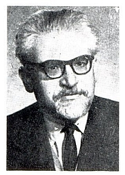 Author photo. Imre Trencsényi-Waldapfel literary historian